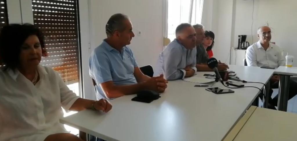 Συνέντευξη Τύπου στα ΜΜΕ της Λάρισας | 27/7/2020