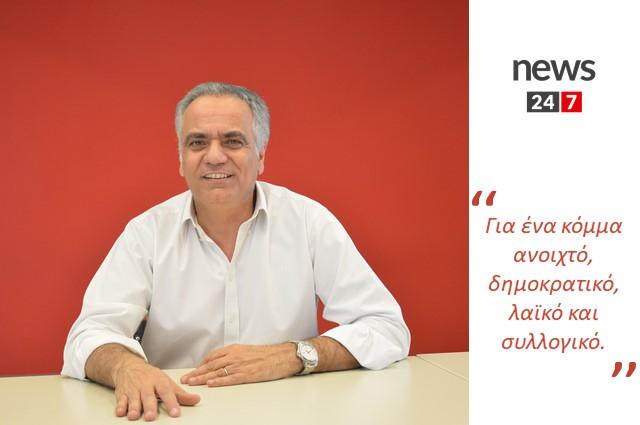 Συνέντευξη στον δημοσιογράφο Νίκο Γιαννόπουλο στο News 24/7 | 16/07/2020