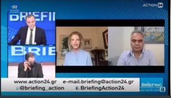 Συνέντευξη στην εκπομπή «Briefing» του Γιώργου Πιέρρου, στο ACTION24 | 28/4/2021